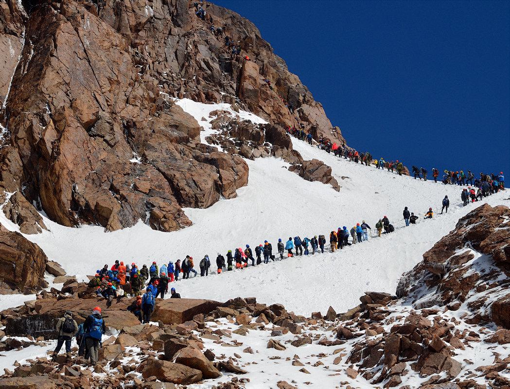 Альпиниада - выше 4000 м - Горный турист Иван Иванов