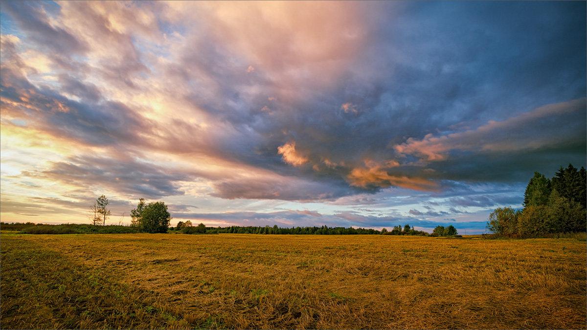 Осенняя, вечерняя... - Александр Никитинский