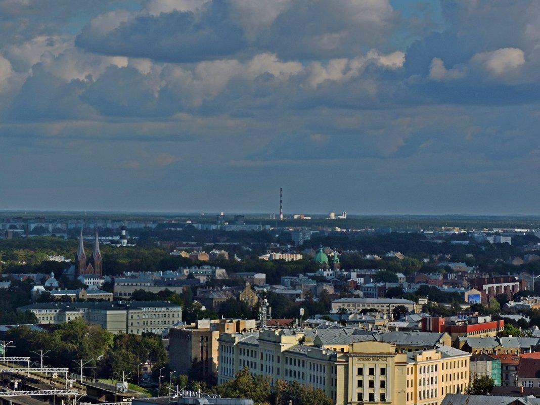 Виды Риги с башни церкви Святого Петра - Аркадий