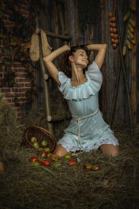 Девушка с яблоками - Андрей Володин