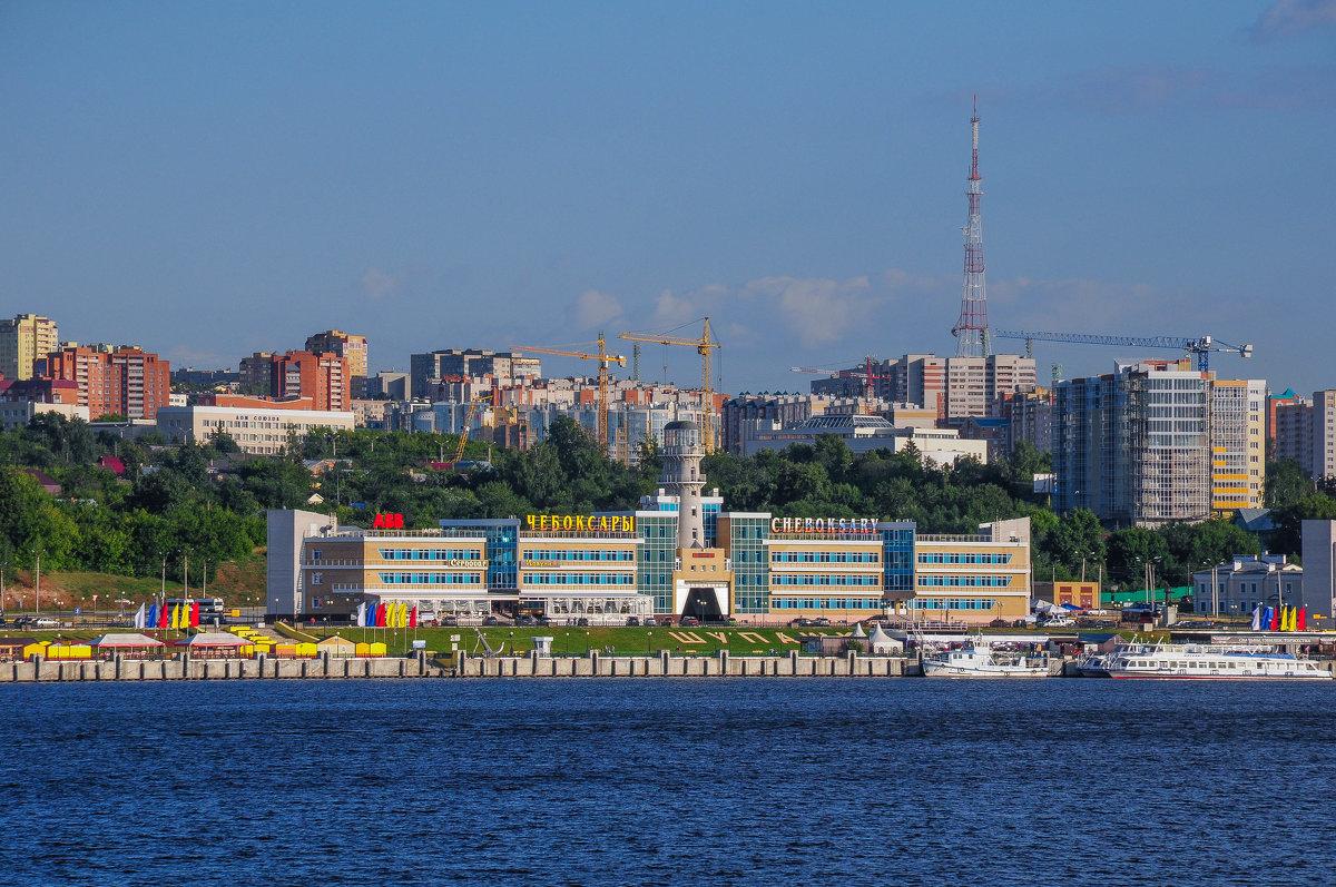 Порт города Чебоксары - Сергей Тагиров