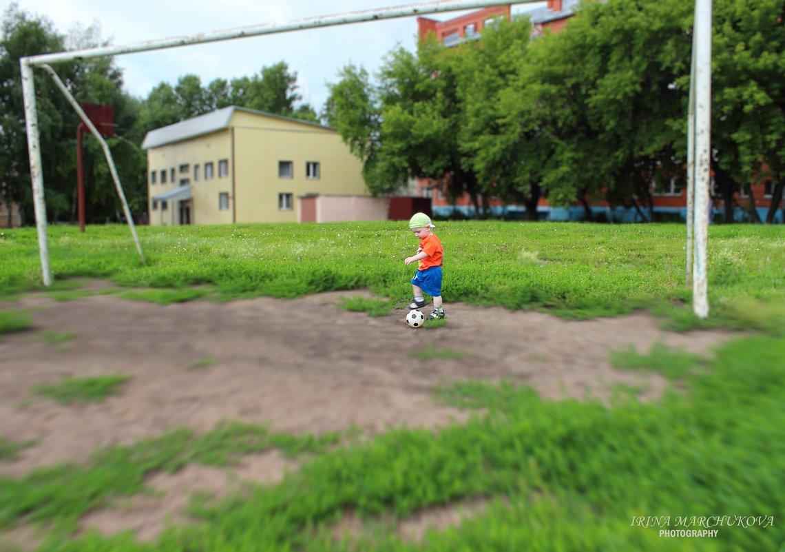 Спорт я с детства уважаю, чемпионом стать мечтаю!!! - Ирина Марчукова