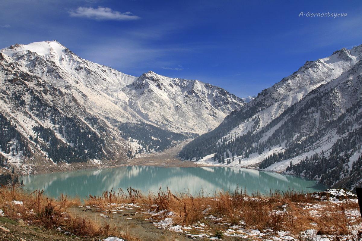 Большое Алматинское озеро – это место, куда хочется возвращаться снова и снова. - Anna Gornostayeva