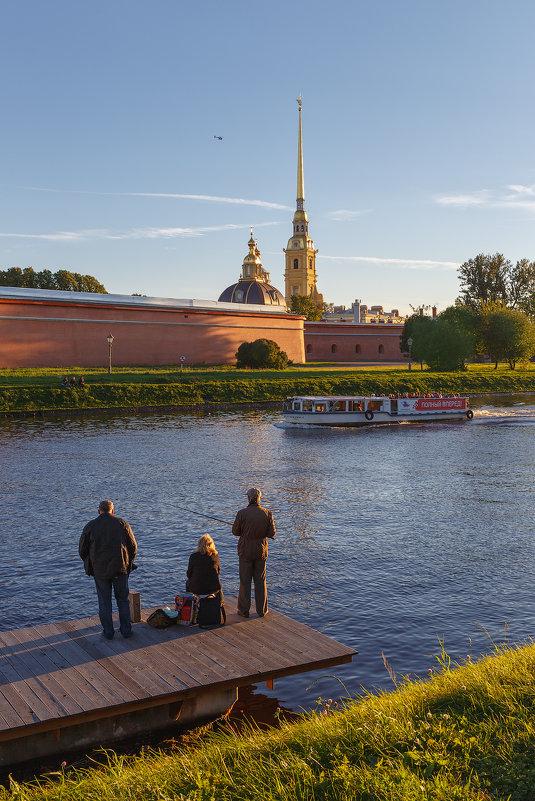 Осенний вечер у Петропавловки - Александр Кислицын