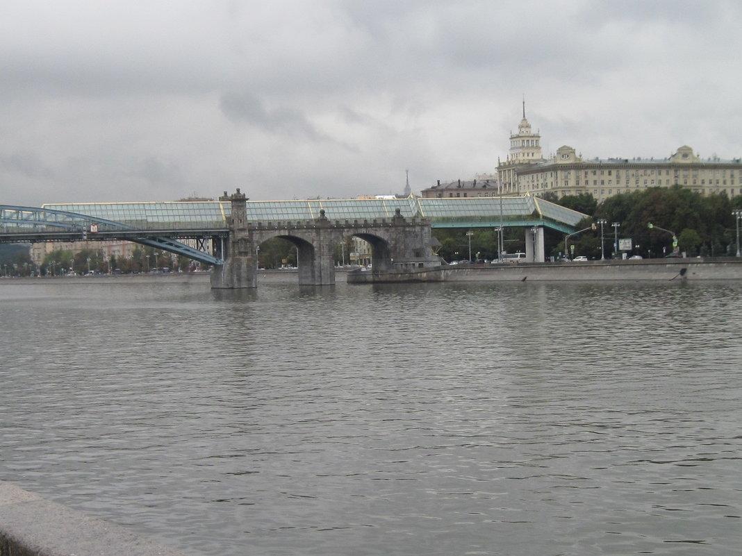 Москва-река. Андреевский мост - Маера Урусова
