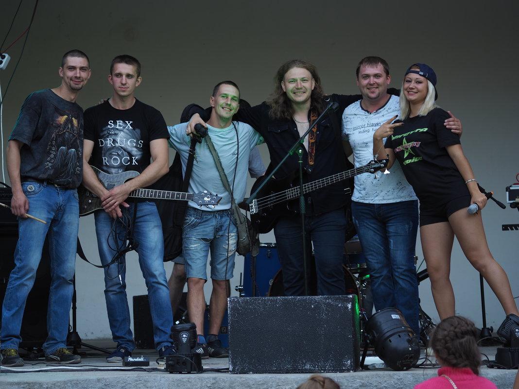Рок группа CRASH - Игорь Касьяненко