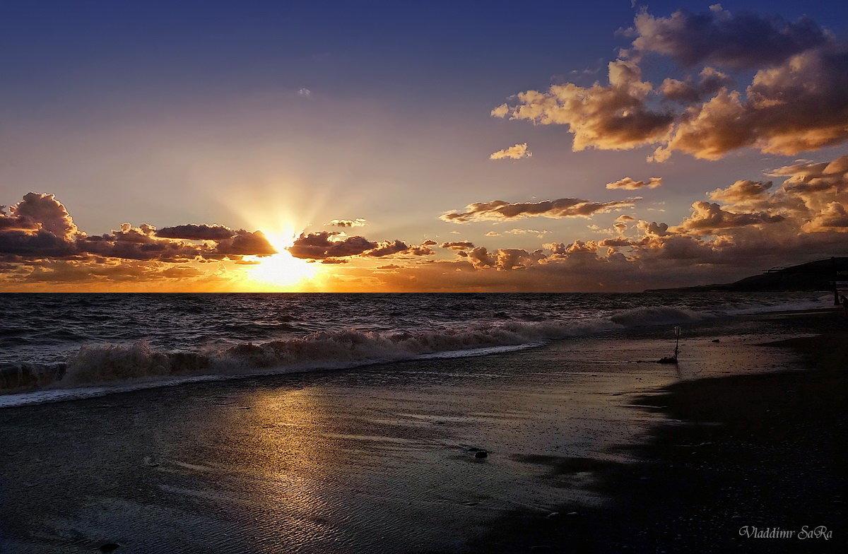 Закат на море - Vladdimr SaRa