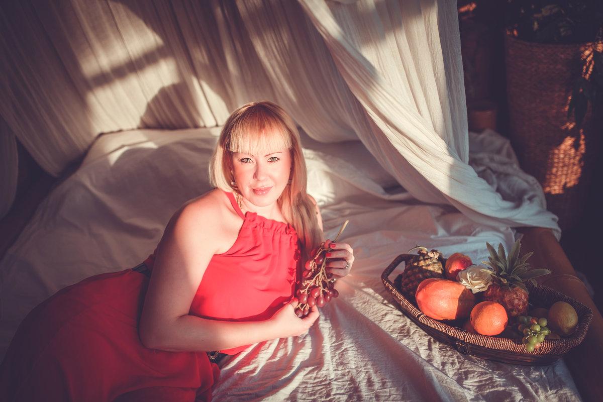 картина с фруктами - Марина Денисова