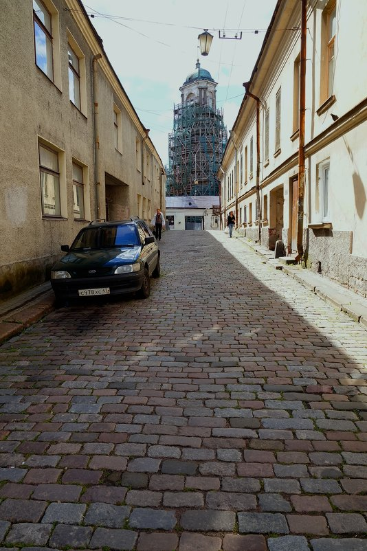 Старые улочки Выборга - Ирина Шурлапова