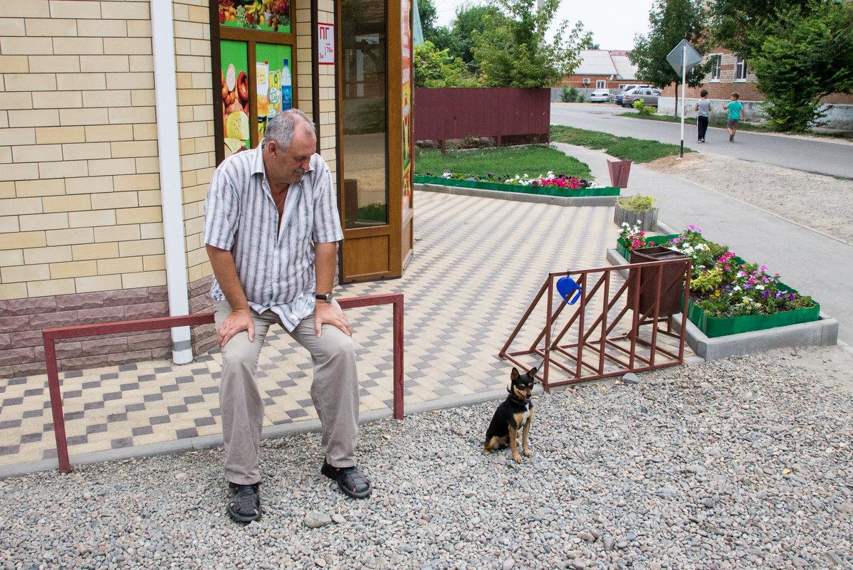 У магазина - Светлана Ку