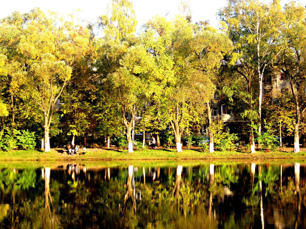 Отражение золотой осени - Елена Семигина
