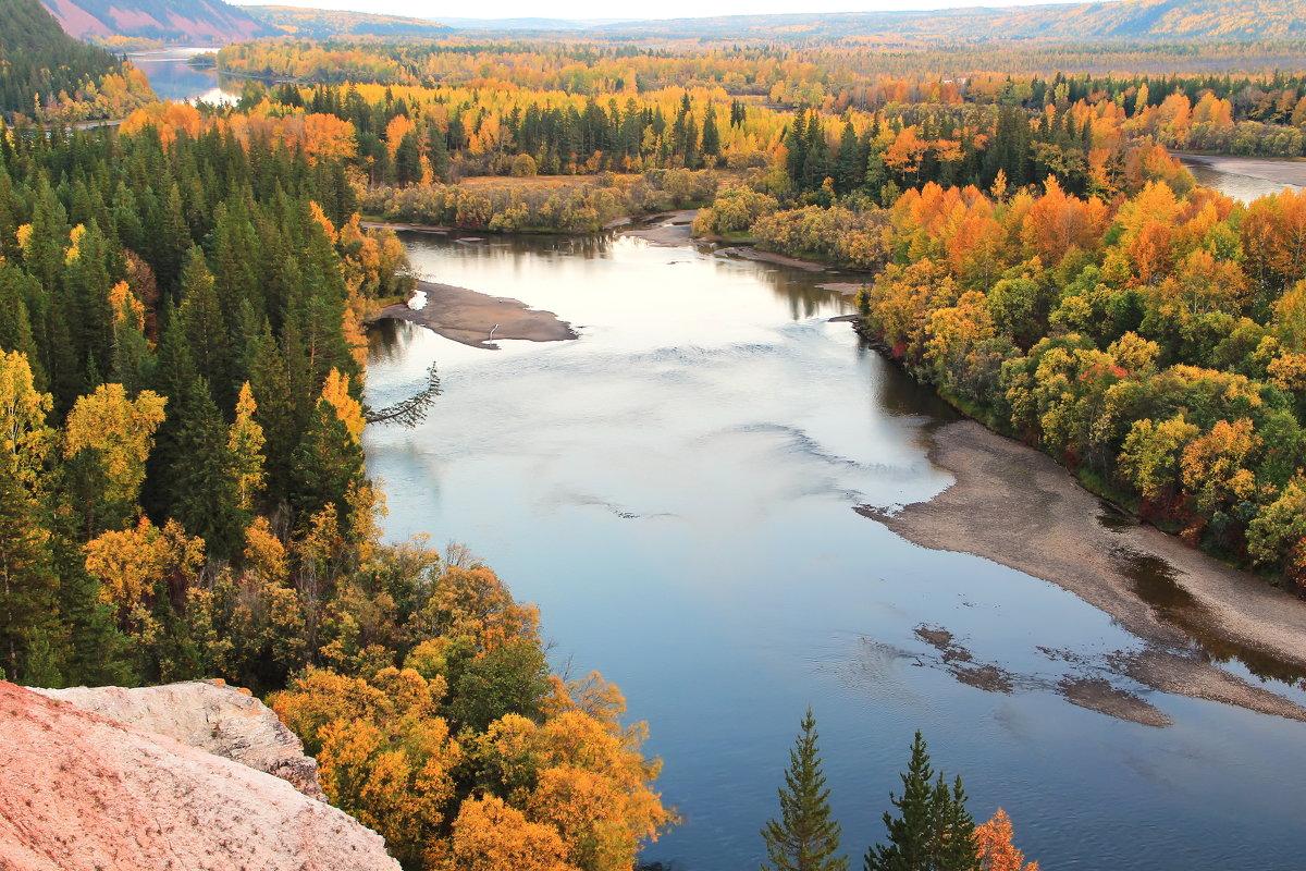 жёлтая осень Сибири... - Александр
