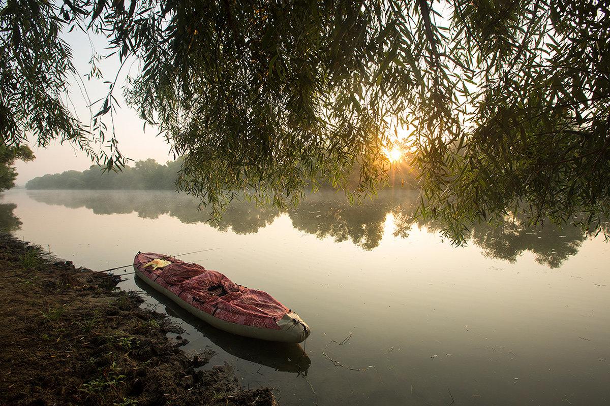 Восход в байдарочном походе - Ekaterina Catskaya