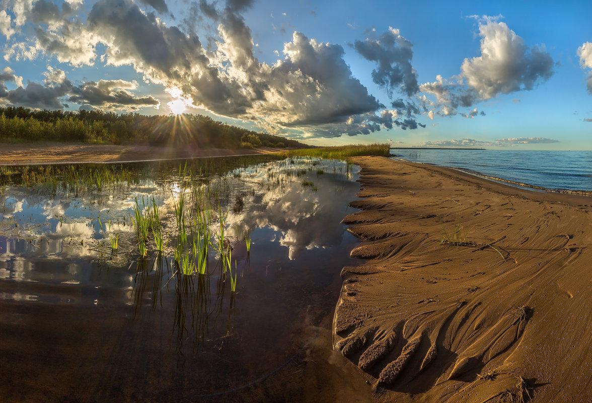 Затопленный пляж - Фёдор. Лашков