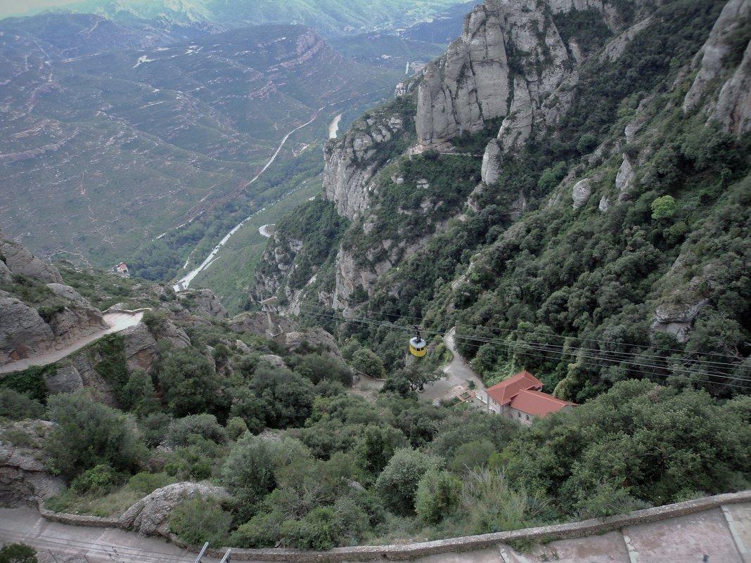 Гора Мансеррат Испания - kuta75 оля оля