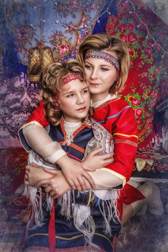 Мама с дочкой - Наталья Боброва