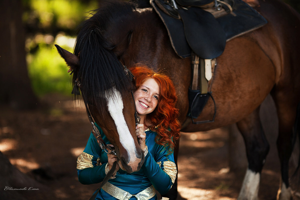 Косплей Мерида, Храброе сердце - Елена Мелешенко