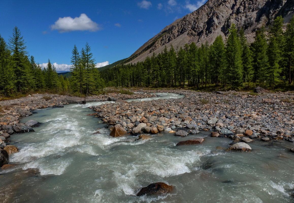 Северо-Чуйский хребет. Река Актру - Виктор Четошников