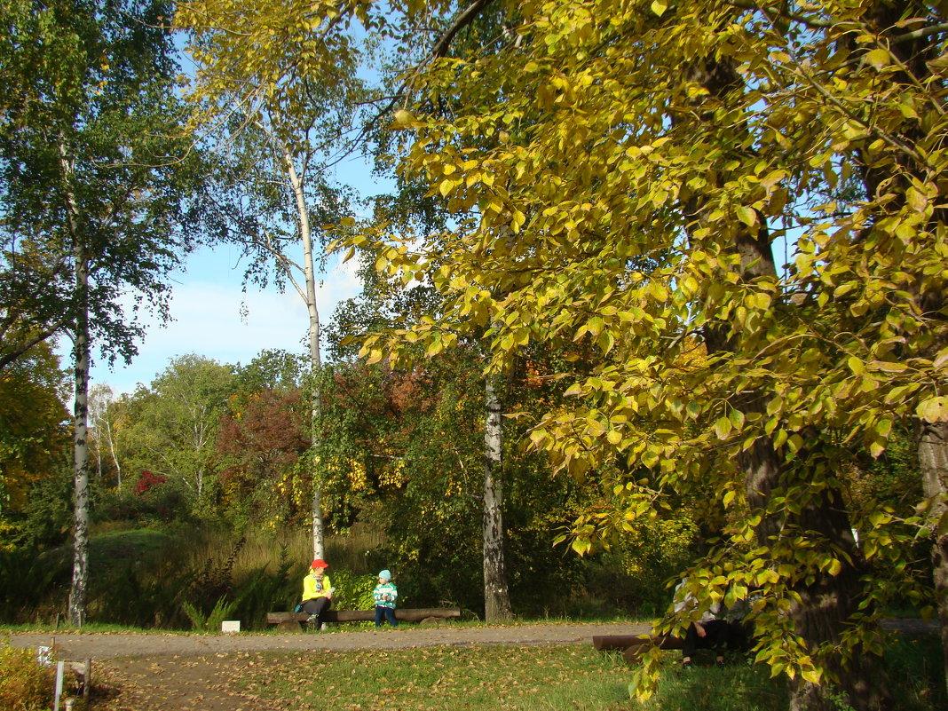 В Ботаническом саду - марина ковшова
