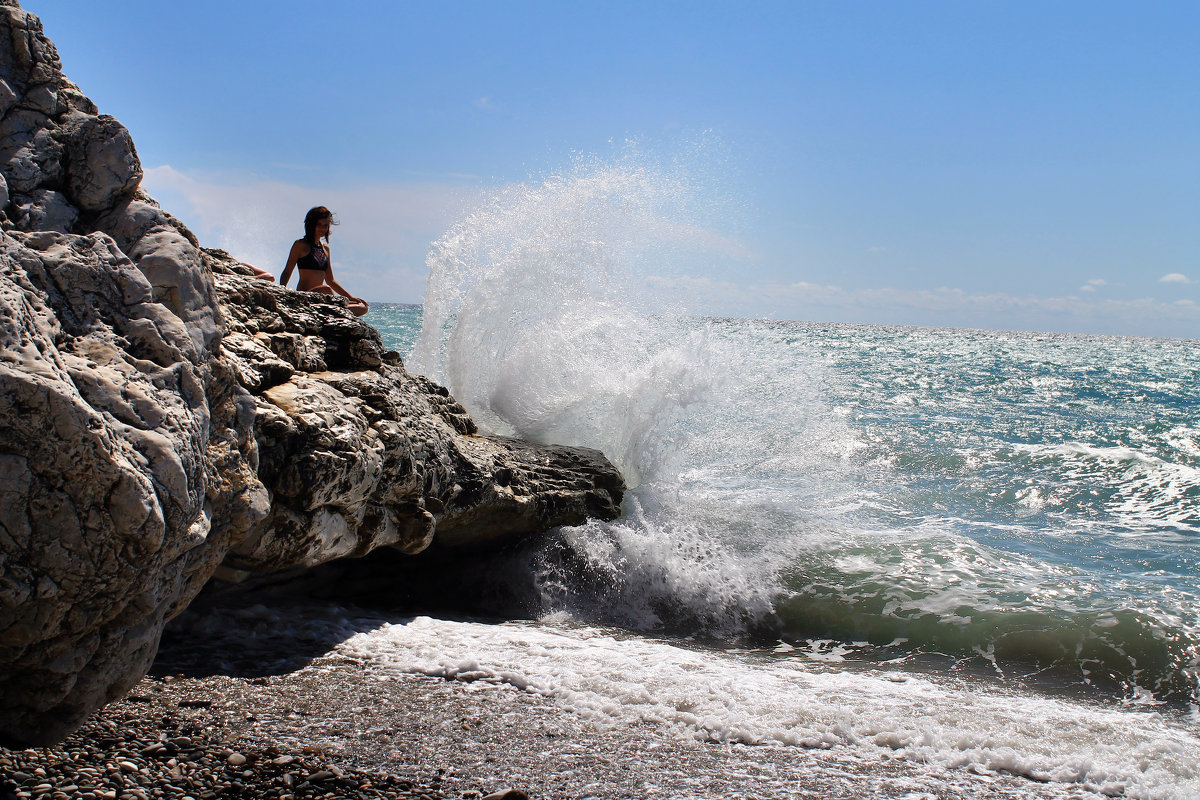 девушка и море - Лидия Юсупова