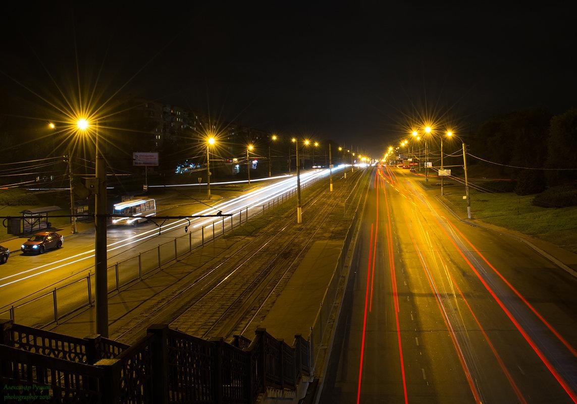 Ночь над городом - Александр Руцкой