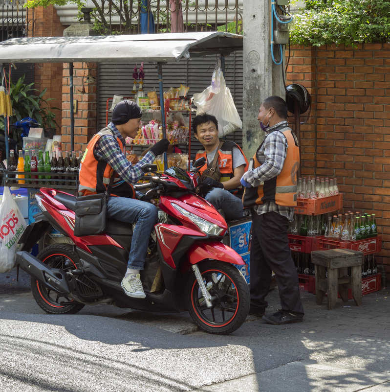 Таиланд. Бангкок. Три товарища - Владимир Шибинский