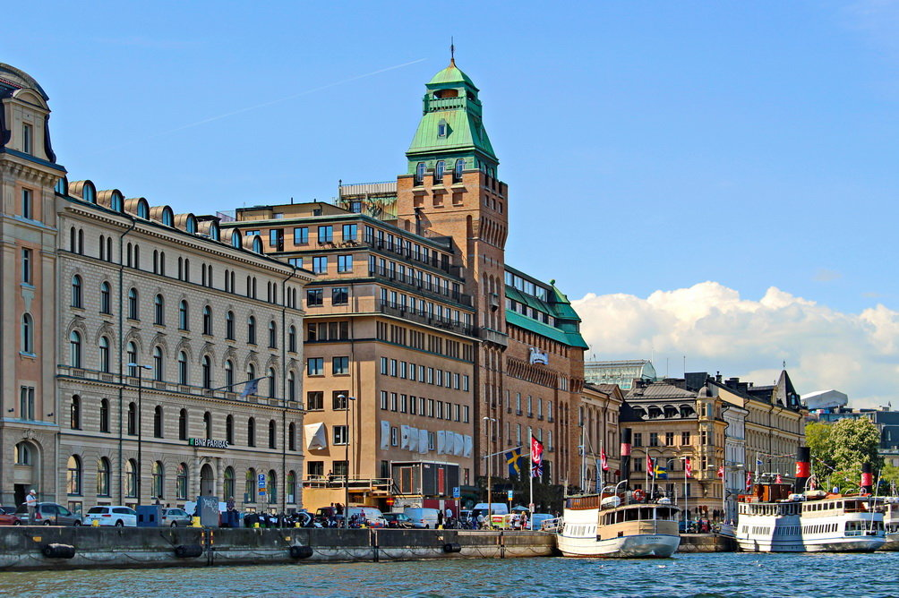 Отель Radisson Blu Strand в Стокгольме. - Олег Попков