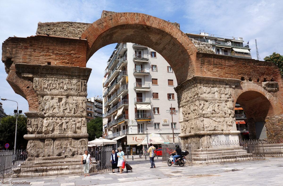 Салоники. Триумфальная арка Галерия. - Нелли Семенкина