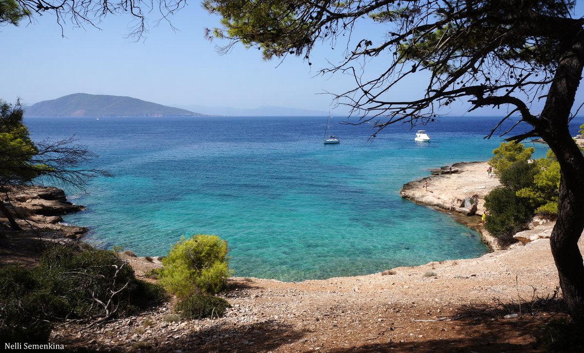 На необитаемом острове Мони (Греция). - Нелли Семенкина