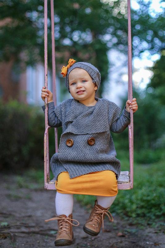 Осенняя прогулка - Женечка Зяленая
