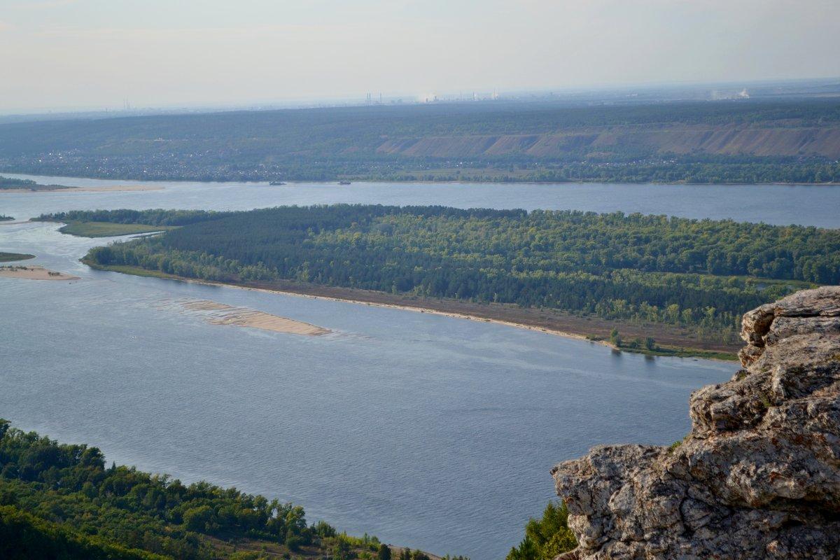 Стрельная  гора  берег Волги - Александр Канышев