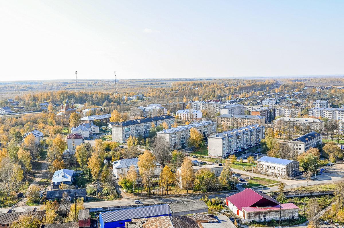 мой город с высоты птичьего полета - Vlad Beketov