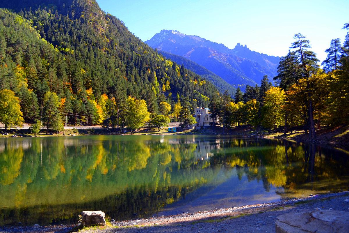 Озеро в горах - Клара