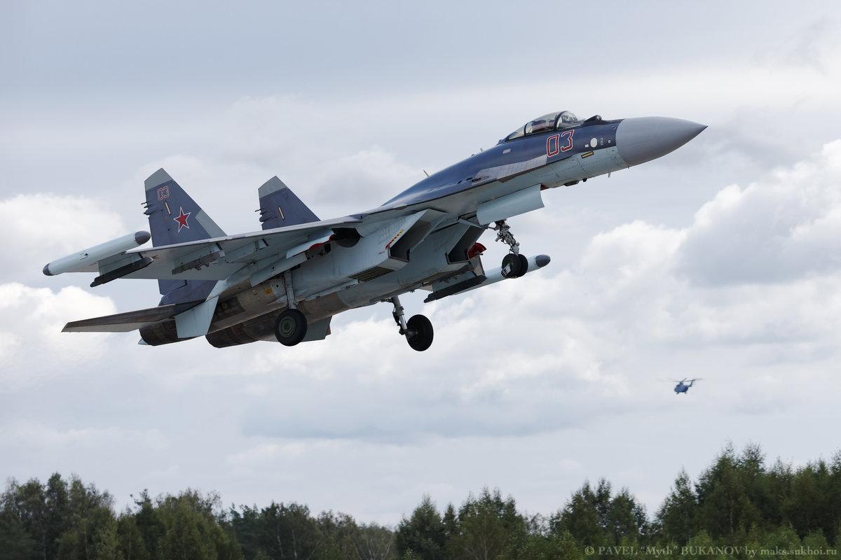 Су-35С - Павел Myth Буканов