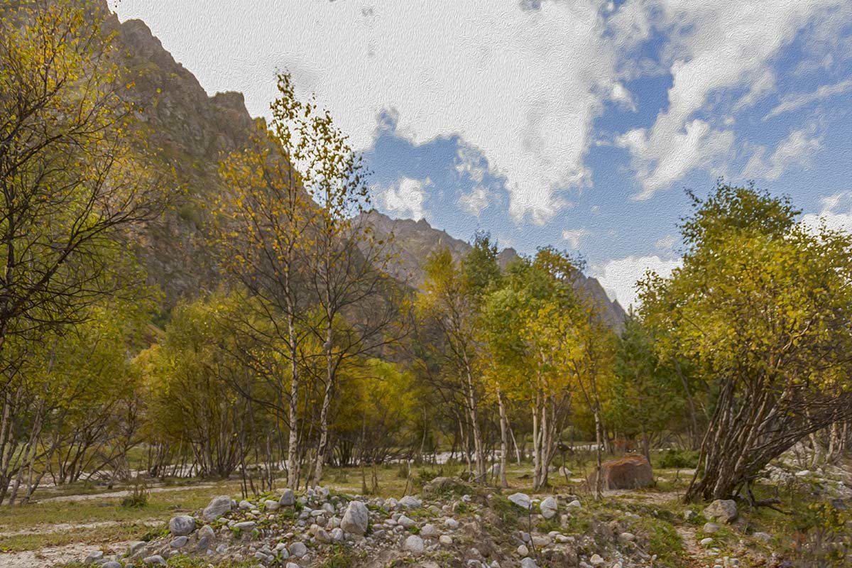 Осень в горах - Ирина Рассветная
