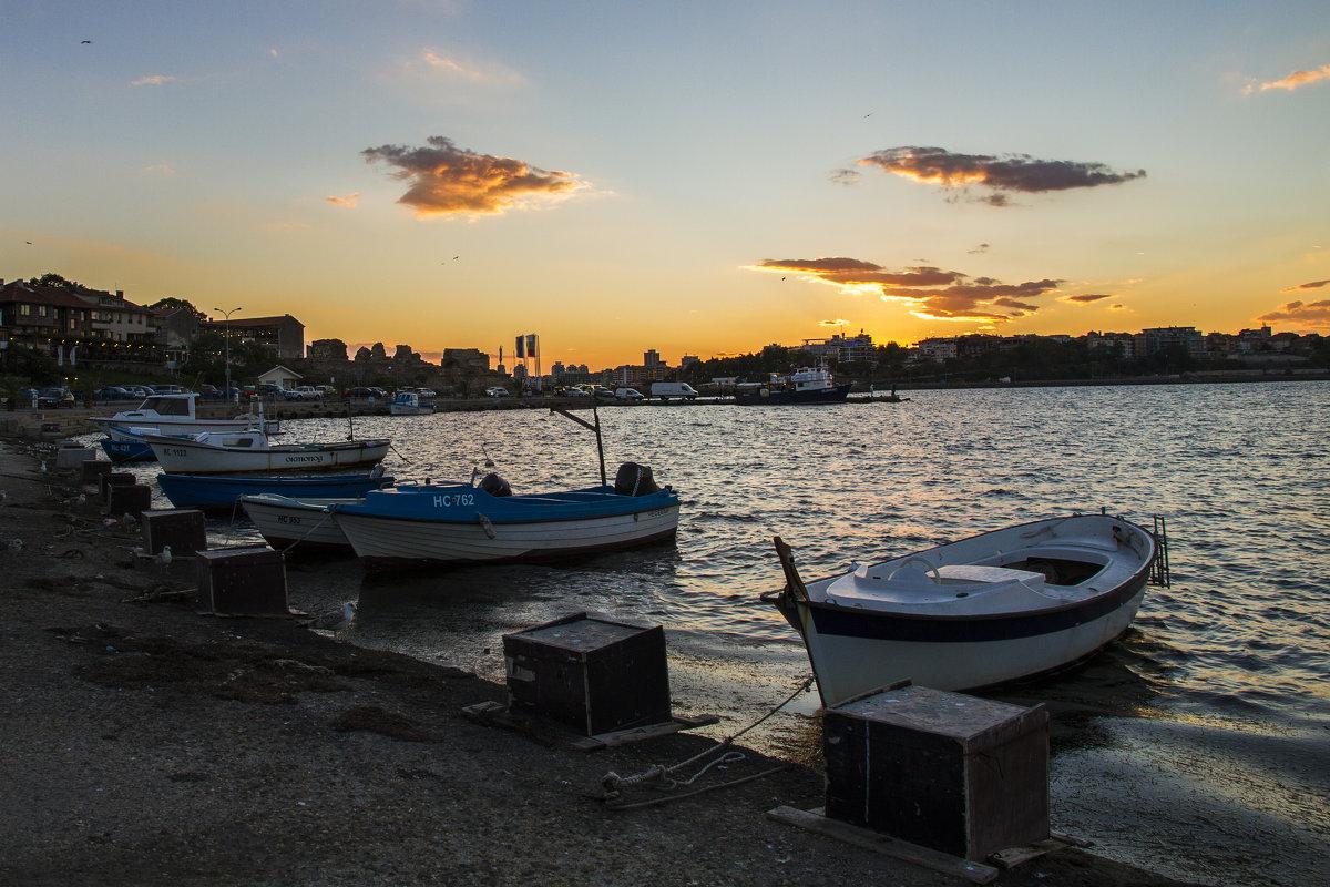 Закат на черном море - Юля Колосова