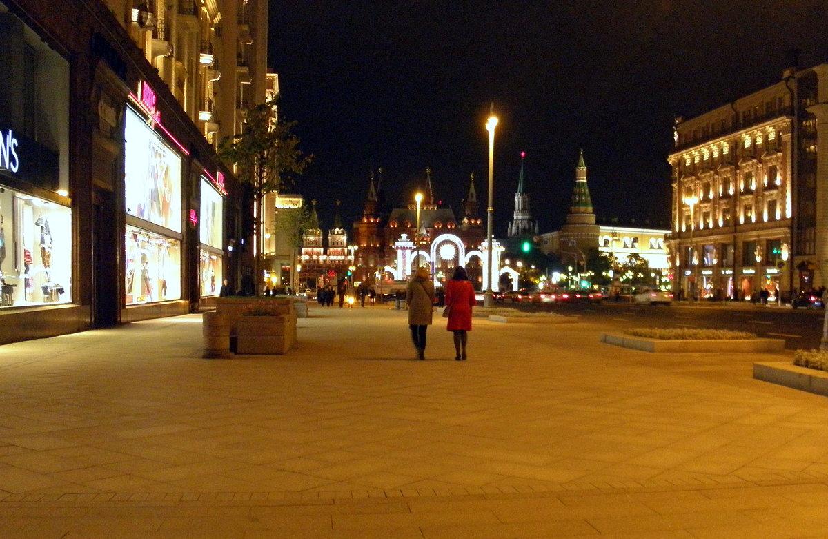 На Тверской вечером... - Елена