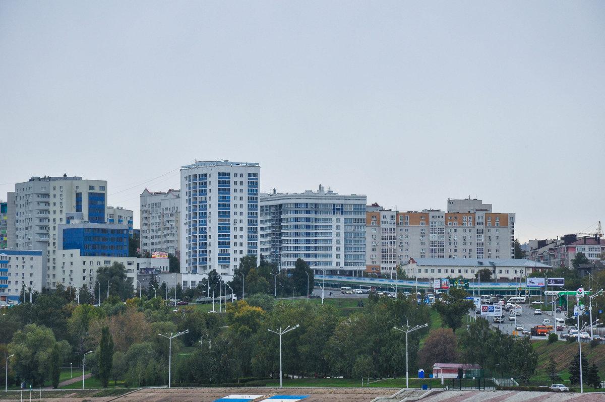 Уфа. Вид с улицы Пугачева. - Сергей Тагиров