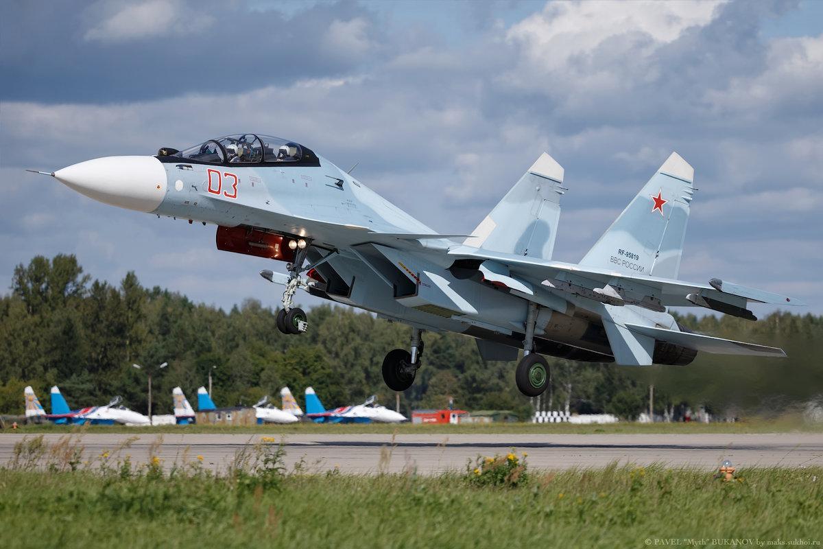 Су-30СМ - Павел Myth Буканов