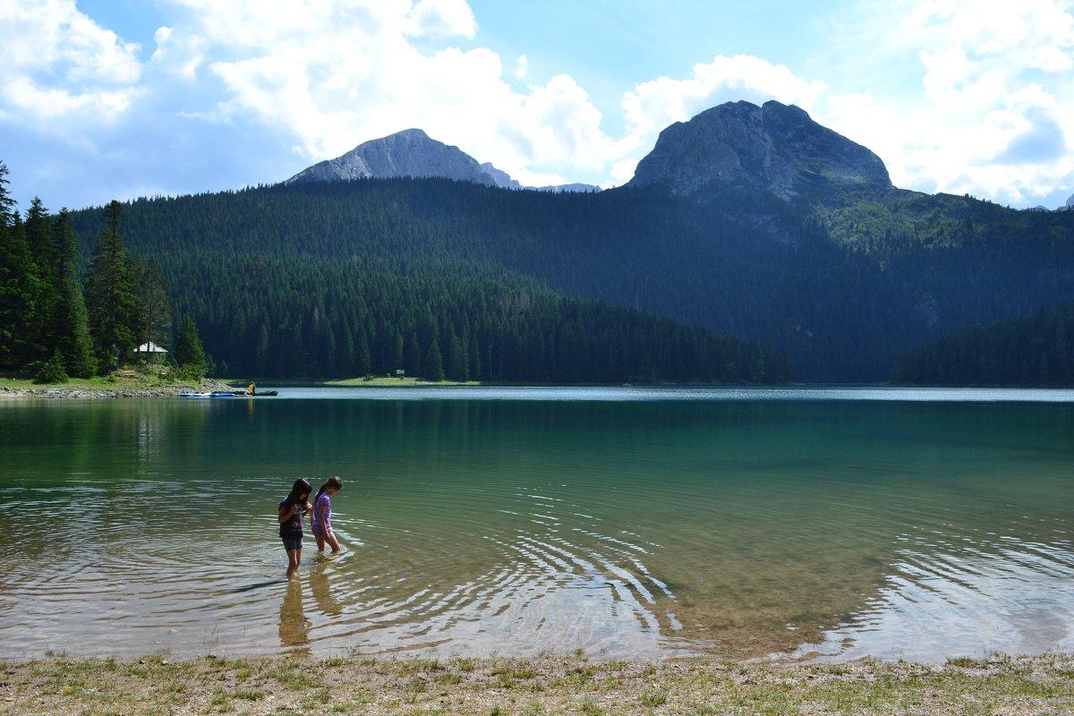 На Чёрном озере - Ольга