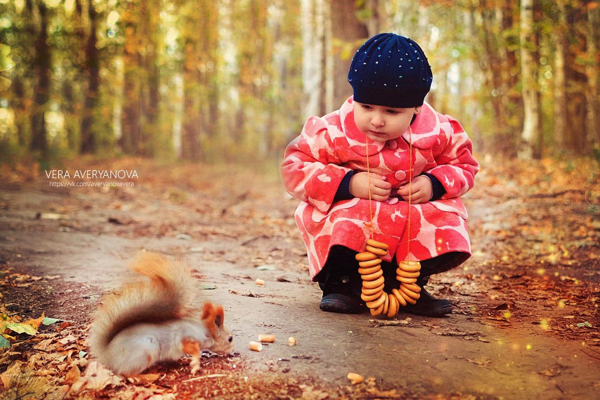 Зимние беличьи заготовки - Вера Аверьянова