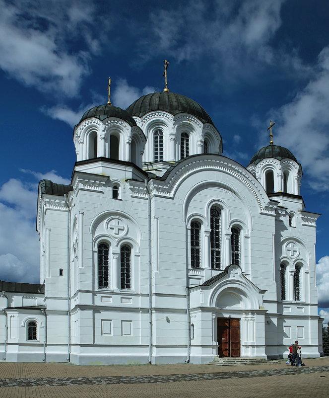 Крестовоздвиженский собор в Спасо-Ефросиньевом монастыре - Владимир
