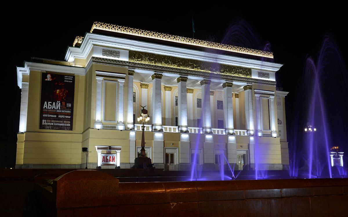Ночная Алма-Ата - Асылбек Айманов