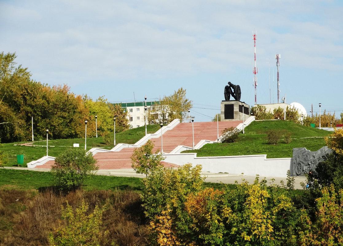 Пушка-символ города - Александр Подгорный