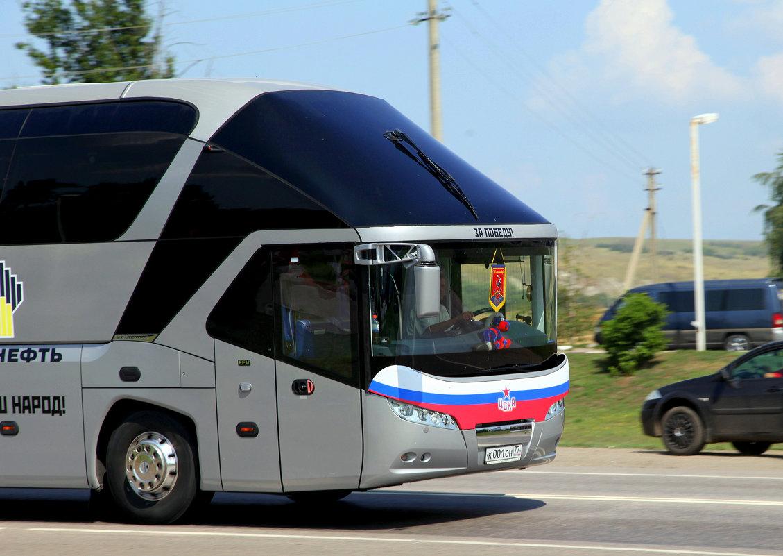 Автобус ЦСКА - Ирина Фирсова