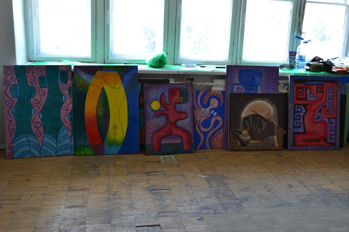 В мастерской художника - Ольга