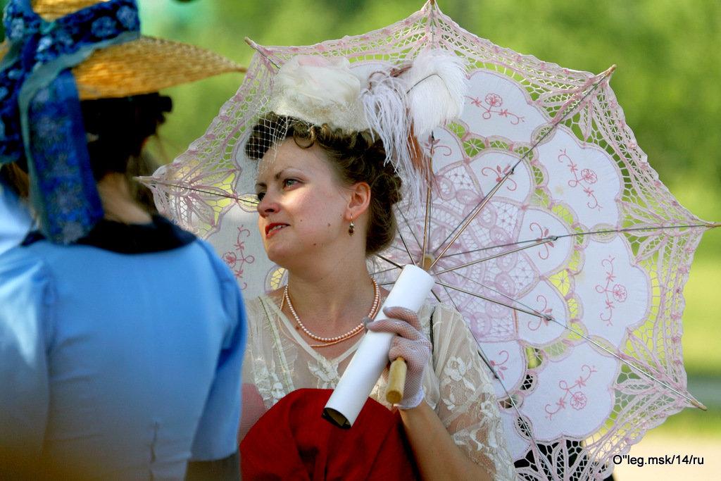 дама с зонтиком - Олег Лукьянов