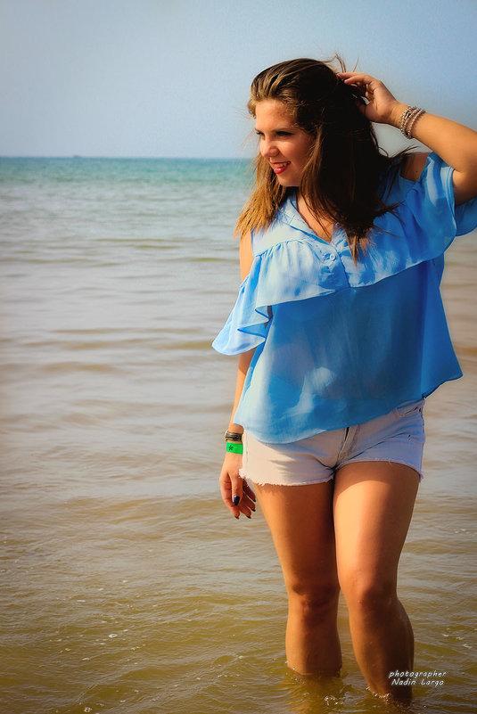 Пляжная фотосессия в Марокко г.Агадир. - Nadin Largo