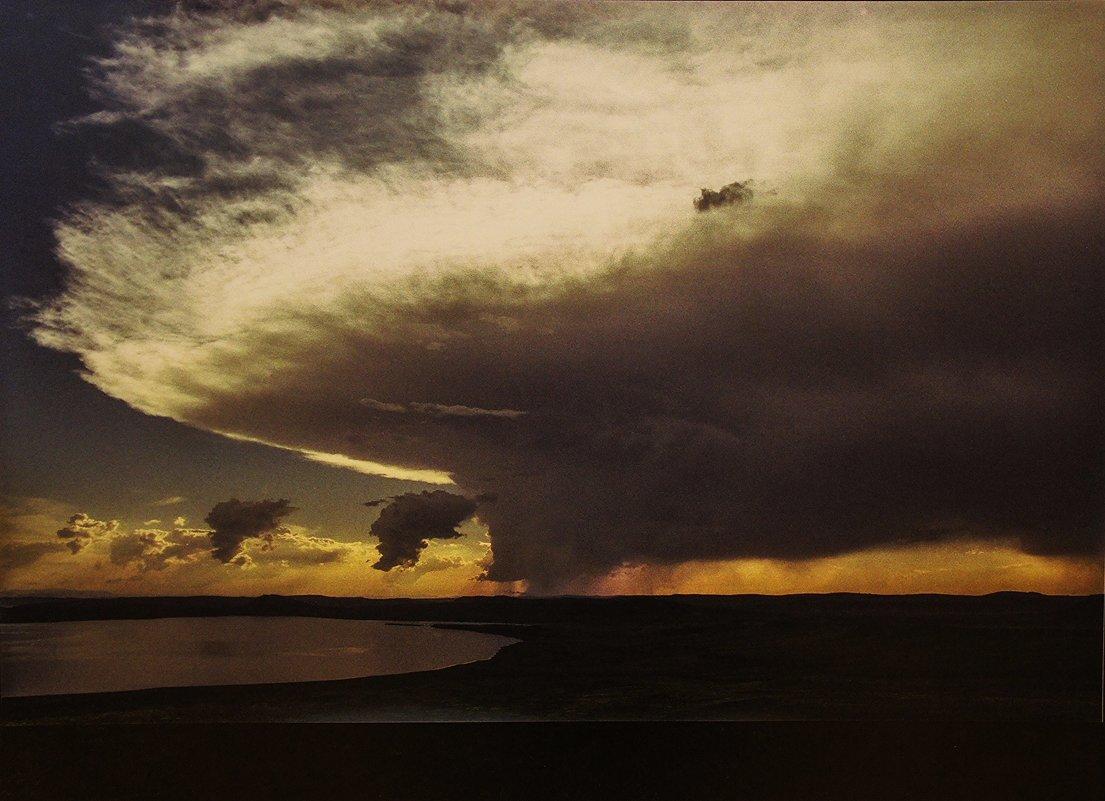 Грозовое облако над озером Белё. Хакасия. 26.07.2005 - Елена Павлова (Смолова)