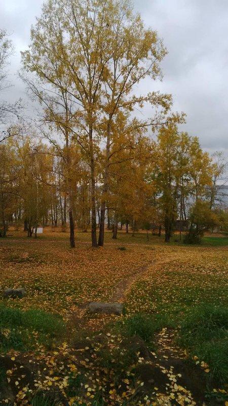 Падал, падал... лист осенний... - Tatyana Kuchina